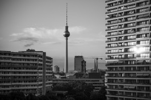 Berlin, a view from up high